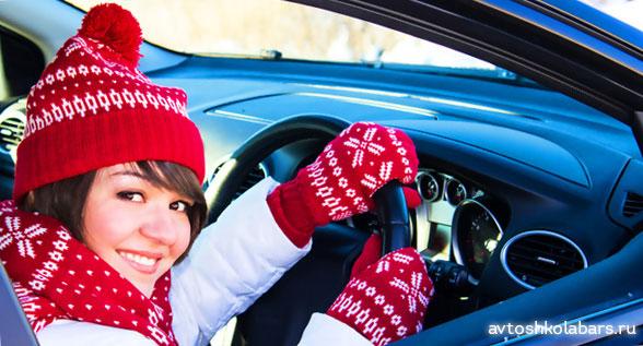 запуск двигателя зимой в холод start car winter