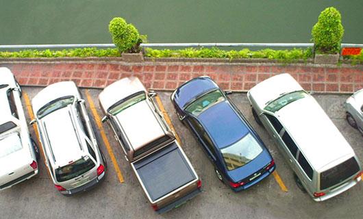 parking car diaonal parkovka