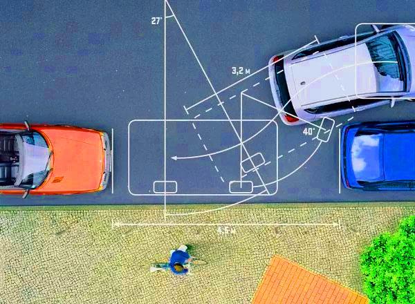 parallel parkovka parking