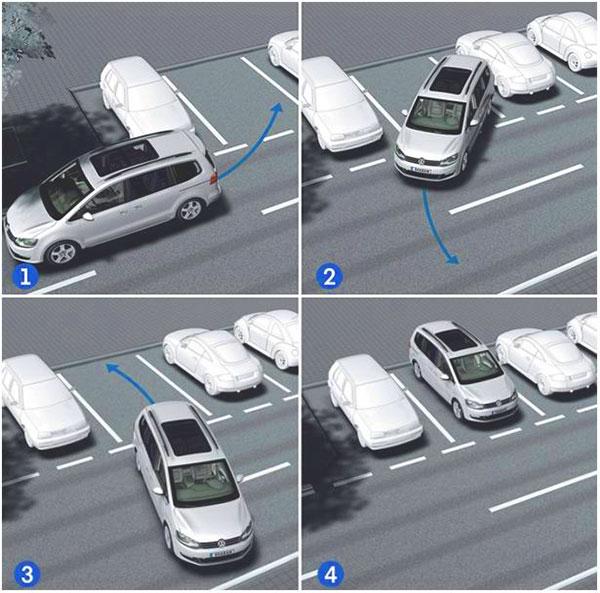 parking car auto parkovka perpendicular